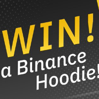 Binance is giving away 10 Binance Hoodies