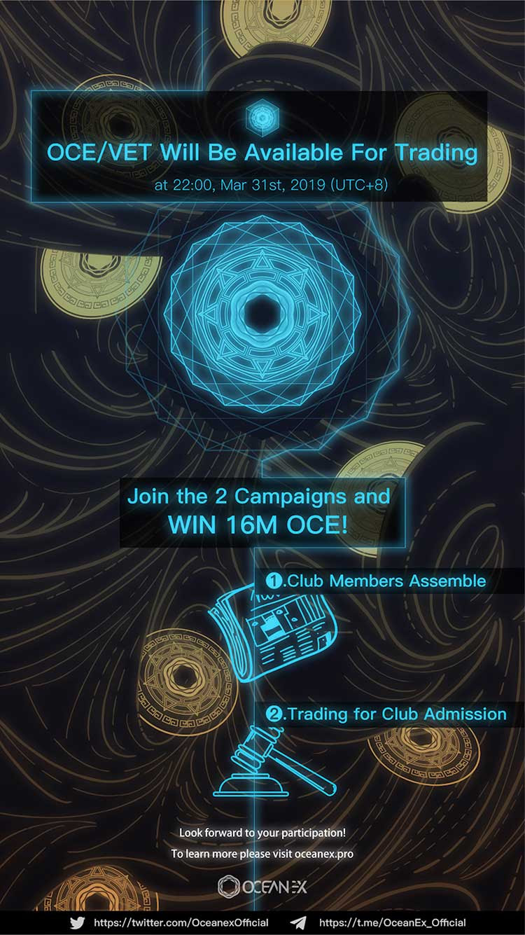 16,000,000 OCE tokens GiveAway by OceanEx